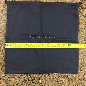 Ralph Lauren Other - Ralph Lauren.   Two different sizes of dust bags.